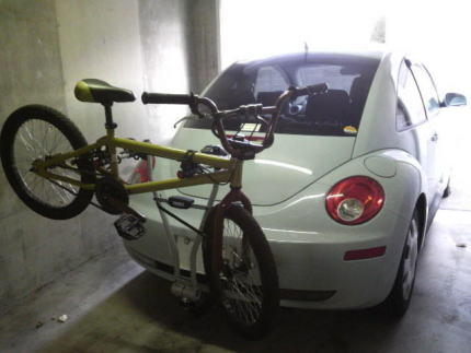 自転車の 自転車 ルーフキャリア 自作 : ファッションで付けるのはどう ...